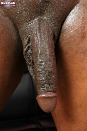 stroking big black cock