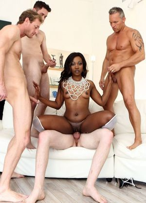 black girl gangbanged by white guys