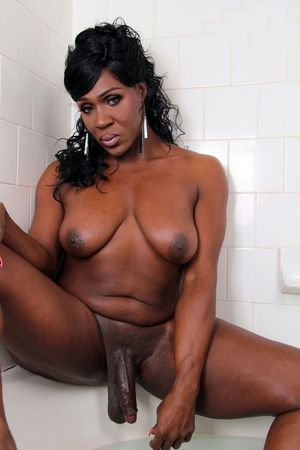 ebony shemale cock