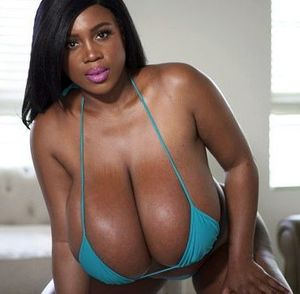 perfect ebony boobs