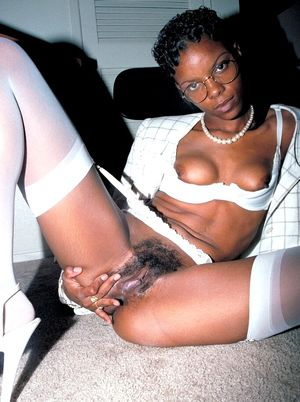 extremely hairy ebony