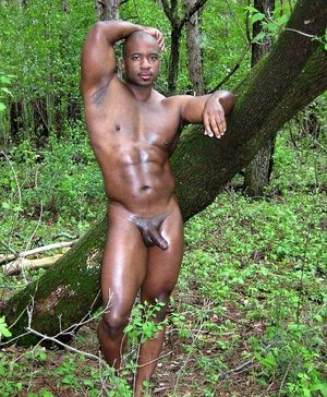 naked old black men