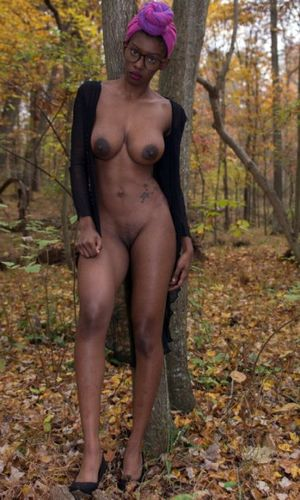 ebony big nipples