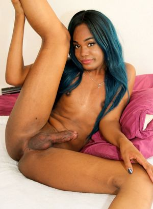 homemade black tranny