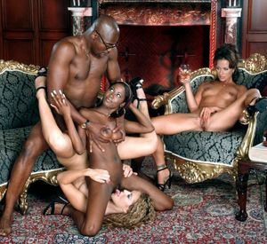 black on black orgy