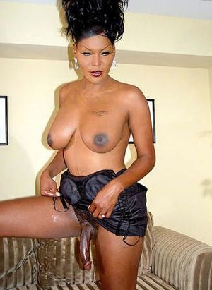 black amatuer tranny