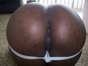 black pussy bent over