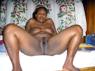 Old Fat Black Pussy